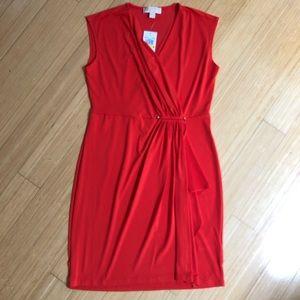 New! Michael Kors faux wrap dress